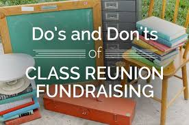 fundraising ideas for class reunions class reunion ideas picmia