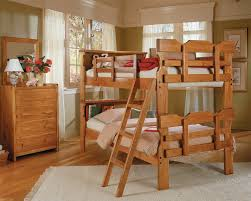 American Made Bunk Beds Buy Woodcrest Bk 1500 Heartland Bookcase Scalloped Bunk Bed