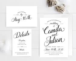 invitation wedding traditional wedding invitation sets lemonwedding