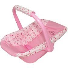 siege auto pour poupon accessoire pour poupon porte bébé rigide la grande récré