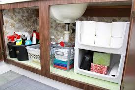 Bathroom Closet Organization High Low Bathroom Cabinet Organization Just A And Her Blog