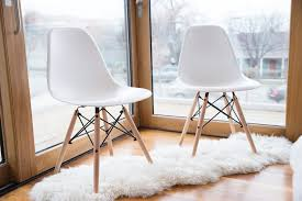 Eames Inspired Rocking Chair Eames Style Eiffel Dining Chair 2 Piece U2013 Urbanmod
