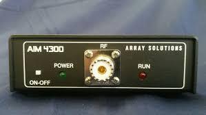 aim 4300d antenna lab rf analyzer aim4300 aim 4300 aim 4300