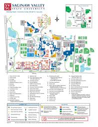Pierce College Map 2017 Color Map By Saginaw Valley State University Issuu