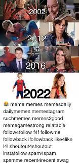 Funny Memes 2012 - 2002 2012 2016 022 meme memes memesdaily dailymemes memestagram