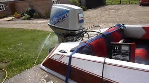 suzuki 85hp oil injected power trim u0026 tilt youtube