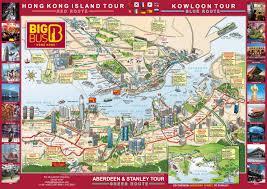 Map Of Hong Kong China by Big Bus Hong Kong Hop On Hop Off Tour In Hong Kong China Lonely