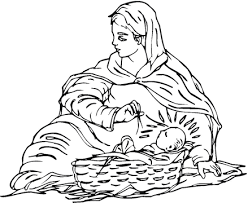 baby jesus coloring page holy spirit interactive kids coloring pages baby jesus with his