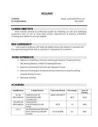 Career Objective In Resume For Mechanical Engineer Cover Letter Resume Job Objective Sample Curriculum Vitae Job