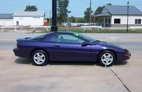 1997 chevrolet camaro curbside 1997 chevrolet camaro conspicuously purple