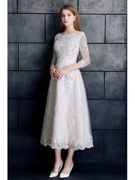 tea length wedding dresses wedding dresses tea length gemgrace