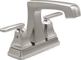 delta faucet 2564 ssmpu dst two handle centerset bathroom