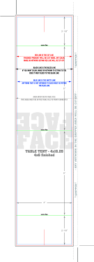 standard table tent card size 4 x6 table tent cards