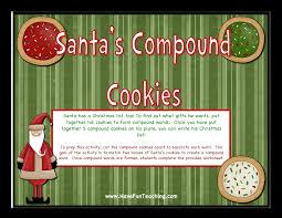 santa u0027s compound cookies christmas compound words activity