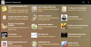 free tv shows for android tv shows free free android app android freeware