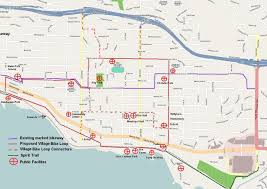Spirit Route Map by Routes And Short Cuts Hub Cycling Advocacy North Shore