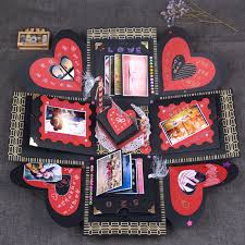usd 16 29 explosion box handmade gifts diy creative album