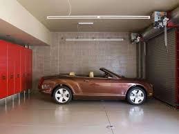 porsche garage decor car garage design with red cabinets car garage design ideas