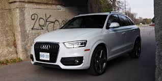 audi q3 quattro suv review 2015 audi q3 quattro technik driving