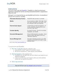 mutual confidentiality agreement mutual nondisclosure agreement