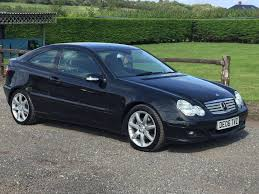 used mercedes benz c class 3 doors for sale motors co uk