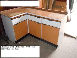 Hygena Kitchen Cabinets Thbohygenakit01 Hygena Orange And White Kitchen Trevor Howsam