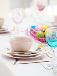 ikea pink plates three ways to dress your table for easter bang on style