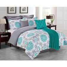 Bed Set Walmart Teal Comforter Sets Smoon Co