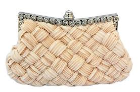 wedding bags chicastic pleated and braided rhinestone studded wedding evening