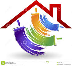 Painting House by House Painting Logo Illustration 42877794 Megapixl