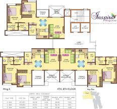 the inspira floor plan anand inspira phase i in kondhwa pune price location map