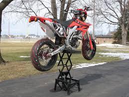 motocross bike lift supermoto stands supermoto supermotard thumpertalk