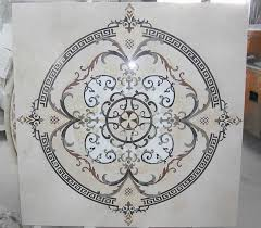kitchen backsplash water jet cut tile designs with medallions