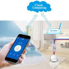 new itead sonoff smart home wifi wireless switch module for apple