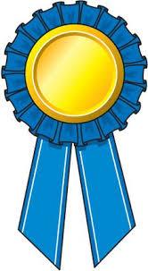 blue and gold ribbon graduation ribbon clip 21