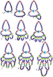 free pattern for pretty beaded earrings charm beads magic