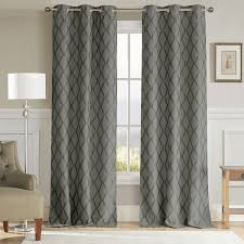 Duck River Window Curtains Duck River Kitterina Grommet Top Thermal Insulated Blackout