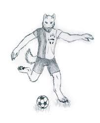 soccer wolf by jmillart on deviantart
