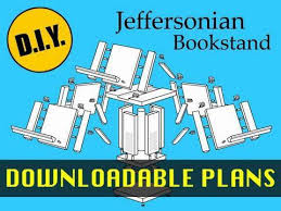 how to make a thomas jefferson jeffersonian bookstand with