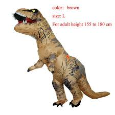Dinosaur Halloween Costumes Adults Rex Inflatable Costume Christmas Cosplay Dinosaur Animal