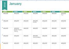 2015 2016 calendar template formal word templates