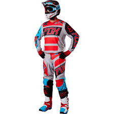 Fox Racing 2017 Mx New 180 Falcon Grey Red Blue Jersey Pants