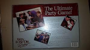 amazon com win lose or draw party edition 1988 toys u0026 games