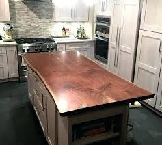 oak kitchen island hardwood in kitchen hardwood island tops live edge kitchen island