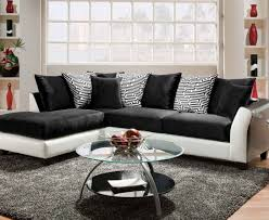 elliot fabric microfiber sectional sofa u0026 foresthill 3 pc