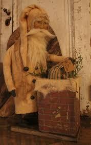 226 best primitive santas images on pinterest primitive santa