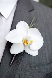 orchid boutonniere flower design buttonhole corsage groom s special