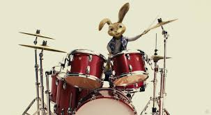 easter plays easter bunny plays the drums from the hop desktop wallpaper