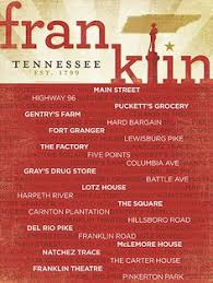 Southern Comfort Zone Franklin Tn The Best Small Southern Town Personal Favorites