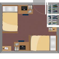 Room Layout Boreman Hall Housing West Virginia University